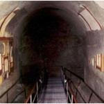Resti del cryptoporticus degli Horti Sallustiani con affreschi