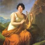Ritratto di Madame de Staël come Corinna, di Élisabeth Vigée Le Brun