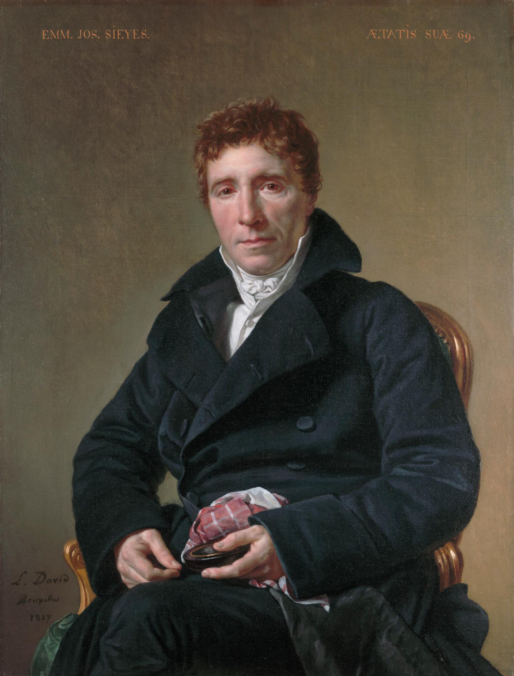 Emmanuel-Joseph Sieyès, di Jacques-Louis David