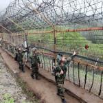 Soldati lungo il confine