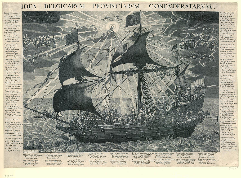 Allegoria delle Province Unite, 1620
