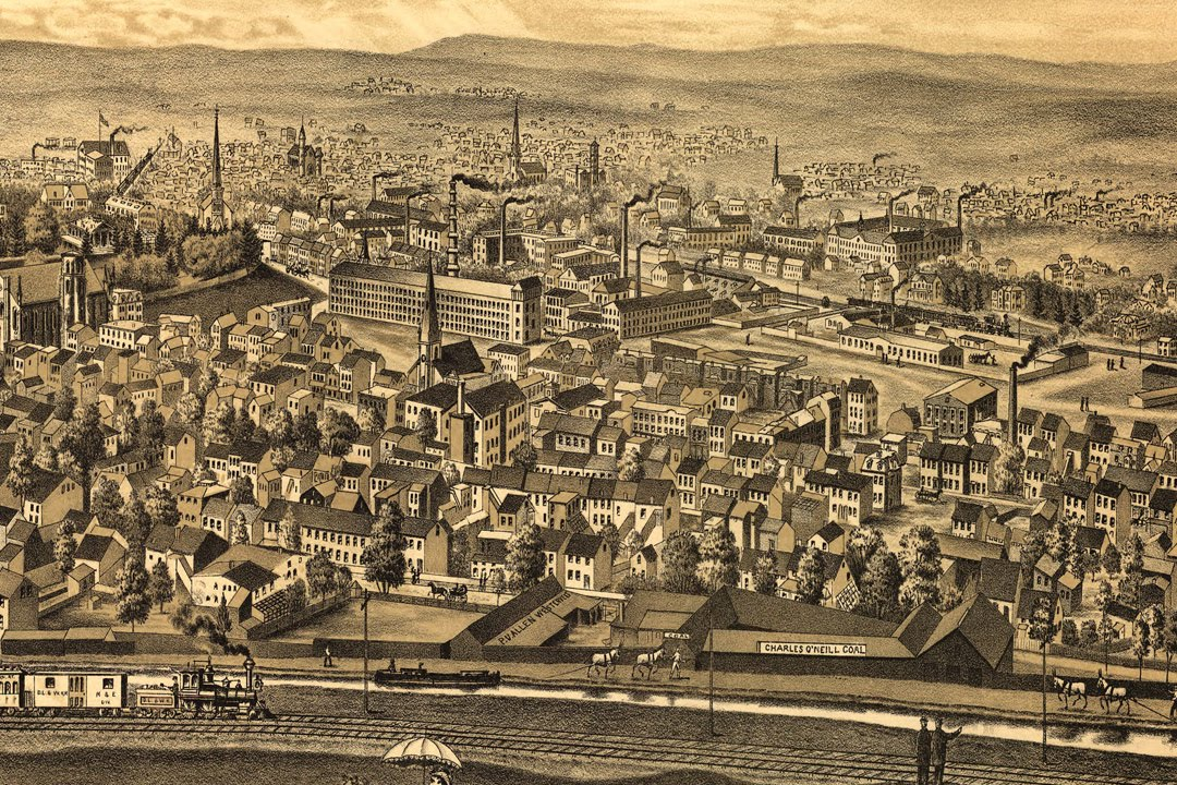 Paterson, New Jersey, a fine '800