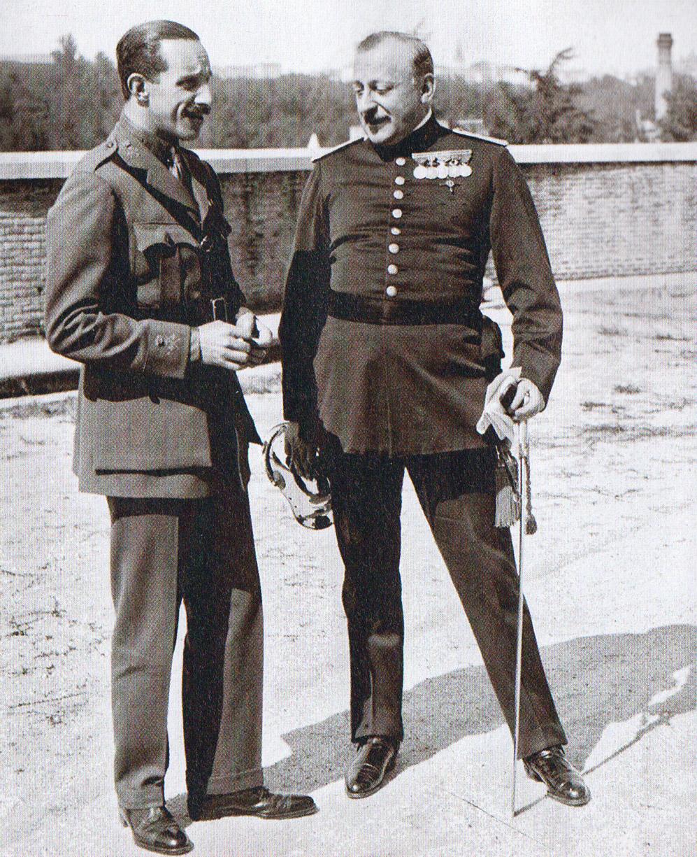 Alfonso XIII e il generale Primo de Rivera nel 1924
