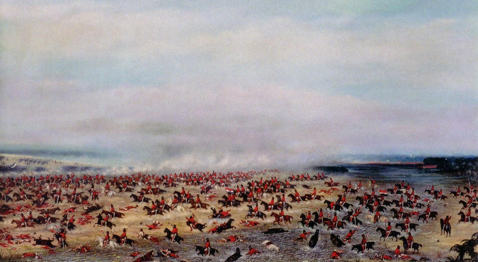 L'attacco della cavalleria uruguaiana