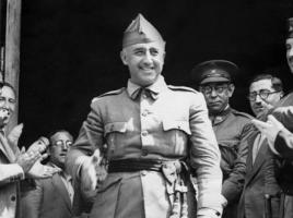 Franco a Burgos nel 1937