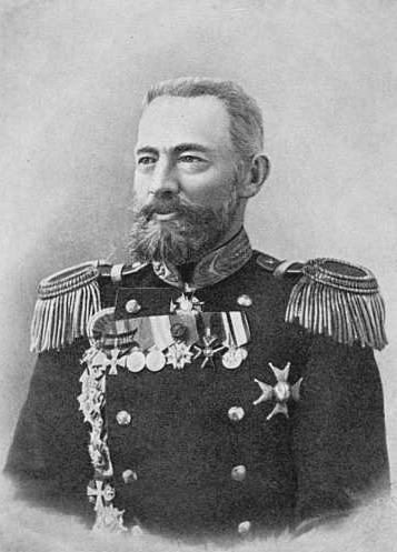 Il contrammiraglio Karl P. Jessen
