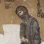 Mosaico di Giovanni il Battista, basilica di Santa Sofia, Istanbul