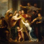 Atilio Regolo di ritorno da Cartagine, di Cornelis Lens