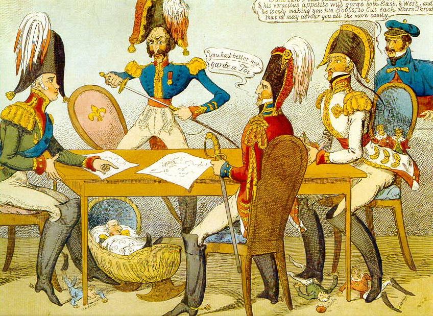 Il Congresso in una caricatura inglese