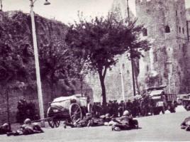 Granatieri a Porta San Paolo, a Roma, 10 settembre 1943
