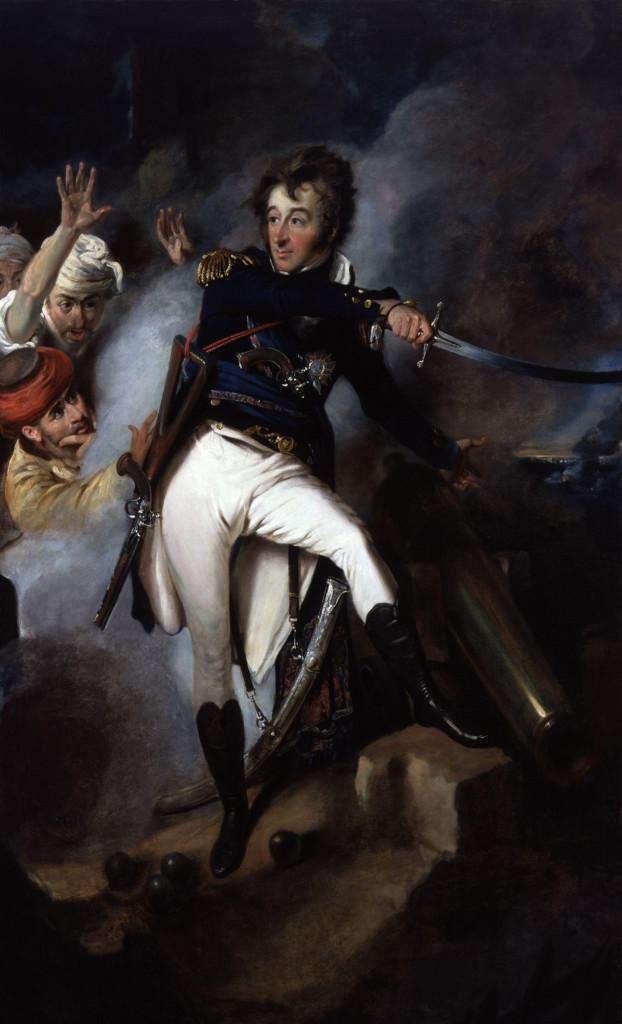 L'Ammiraglio Smith nell'Assedio di San Giovanni d'Acri.