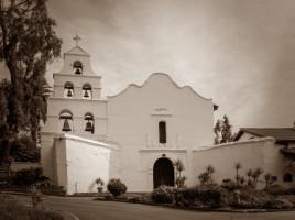 La chiesa della missione di San Diego de Alcalá
