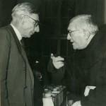 Cesare Musatti e Agostino Gemelli nel dopoguerra