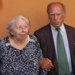 Luciana Tedesco e Gabriele Sonnino, nascosti da piccoli  nell'Ospedale tiberino dei Fatebenefratelli