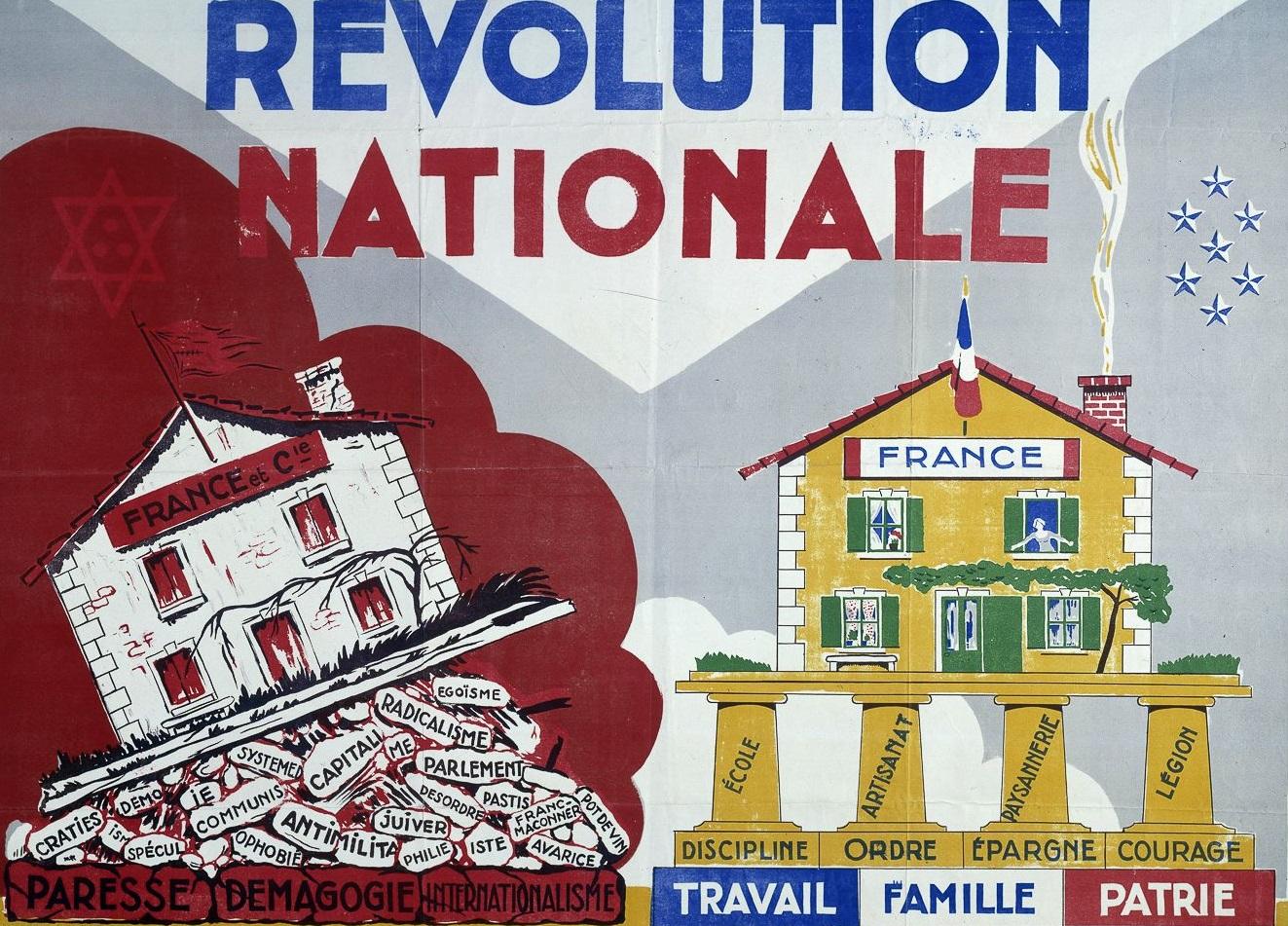 revolution_nationale_propaganda_poster