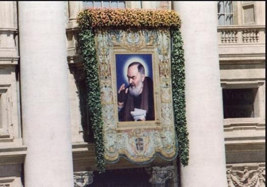 Canonizzazione di San Pio da Pietrelcina, 16 giugno 2002.