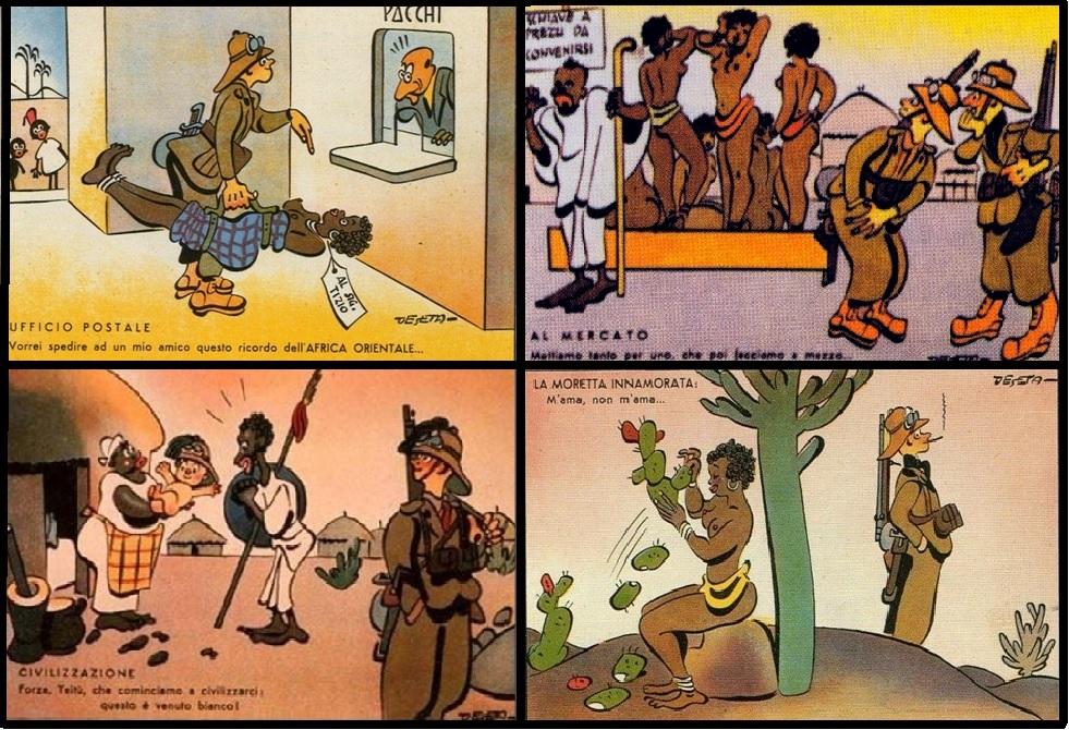 Cartoline coloniali