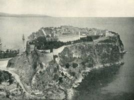 La rocca con la città vecchia nel 1890.