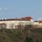 Il castello dello Spielberg, a Brno.